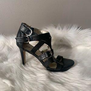 """Diba Size 8 M Sandal Heels - Heel 4.5"""" Front 1"""""""